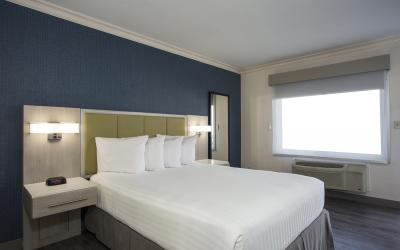 Santa Monica Hotel room with queen bed; Accessible Room